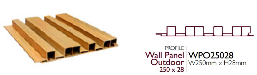 Biowood WPO25028